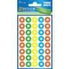 Avery Zweckform® 3055 Schule Verstärkungsring rot grün gelb blau Papier selbstklebend 4 Bögen 160 ST