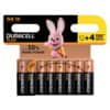 DURACELL Batterien PLUS POWER Alkaline - Mignon/LR6/AA/MN1500, 1,5 V, 12 + 4 Stück (gratis)