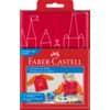FABER-CASTELL Malschürze  rot/orange