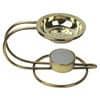 Weihrauchbrenner-Set  gold 490M  m.Teelicht