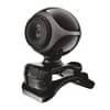Webcam EXIS Trust con microfono integrato - nero/argento 17003 Immagine del prodotto