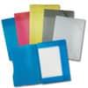 Folia Sammelmappe mit Gummiband, DIN A3, transparent, 5 Farben