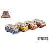 Fahrzeug VW Bus Bulli Flowerpower sort. 520020 Maßstab 1:32 im Display