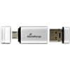 USB Stick 2.0 + MicroUSB inkl. URA ProduktbildEinzelbild 1S