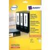 Etichette bianche per raccoglitori Avery Ultragrip™ 61x192 mm - 4 et/foglio - stampanti laser - Conf 25 fogli L4761-25 Immagine del prodotto