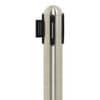Colonnina segnapercorso Securit® in acciaio - nastro retrattile 2,1 mrosso 101x51x51 cm - RS-RT-RVS-RD-SET Immagine del prodotto Detaildarstellung S