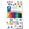 Staedtler® ergo soft® jumbo Farbstift - 4 mm, Karton mit 12 Farben + Spitzer