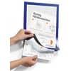 "Durable Informationsrahmen DURAFRAME® A4 """"Handhygiene"""", dunkelblau, 1 Pack à 2 Stück"