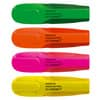 Q-CONNECT Textmarker Premium - ca. 2 - 5 mm, Etui mit 4 Farben
