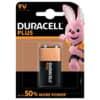 Duracell® Batterien PLUS POWER Alkaline - E-Block/6LR61/9 V