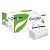 """Asciugamani piegati a """"V"""" 2 veli Lucart Eco V2 bianco 20 conf. da 192 pezzi - 863046 Immagine del prodotto"""