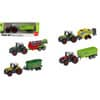 Fahrzeug Traktor m. Anhänger sortiert RG4928 Metall