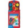 FABER-CASTELL CONNECTOR Farbkasten - 24 Farben, inkl. Deckweiß, rot