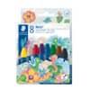 Staedtler® Wachsmalkreide Noris Club®, rund, sortiert, Kartonetui, 8 Farben