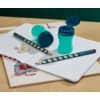 Bleistift HB rechts petrol ProduktbildProduktabbildung aufbereitet 3S