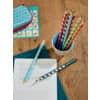 Bleistift HB rechts petrol ProduktbildProduktabbildung aufbereitet 4S