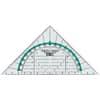 Geometriedreieck 16cm glasklar PAGNA 723170300