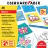 EBERHARD FABER Memo-Spiel zum Ausmalen, inkl. 6 Buntstifte