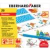 Eberhard Faber Domino-Spiel zum Ausmalen, inkl. 6 Buntstifte