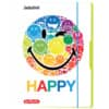 Gummizugmappe A3 Rainbow HERLITZ 50001682 Smiley World