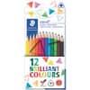 Staedtler® ergo soft® 157 Farbstift - 12 Farben in Kartonetui