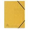 Exacompta Sammelmappe - A4, 355 g/qm, Gummizug, gelb