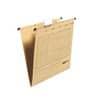 Falken Hängemappe - A4, 230 g/qm, seitlich offen, braun