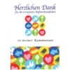 Danksagungskarte Kommunion - 5 Stück, inkl. Umschlag