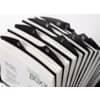 Rollkartei Visitenkarten schwarz ProduktbildDetaildarstellungS