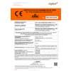 Mascherine monouso FFP2 - Certificazione CE 0370 - bianche - Scatola da 10 pezzi confezionati singolarmente - JY-006 Immagine del prodotto Produktdatenblatt S