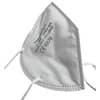 Mascherine monouso FFP2 - Certificazione CE 0370 - bianche - Scatola da 10 pezzi confezionati singolarmente - JY-006 Immagine del prodotto Einzelbild 2 S
