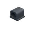 DURABLE Kabel-Clip CAVOLINE® CLIP PRO 2 - 25 x 25 x 20 mm, graphit, Kunststoff, 4 Stück