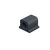DURABLE Kabel-Clip CAVOLINE® CLIP PRO 1 - 20 x 21 x 16 mm, graphit, Kunststoff, 6 Stück