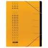 Elba Ordnungsmappe chic - 7 Fächer, A4, Karton (RC), 450 g/qm, gelb