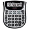 Rebell Tischrechner Ergo 10, 3-Tasten Speicher, 10 Stellen, 130x153x35mm, schwarz/silber