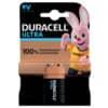 Duracell® Batterien ULTRA POWER Alkaline - E-Block/6LR61/9 V