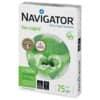 Carta per fotocopie A4 Navigator Ecological 75 g/m² Risma da 500 fogli - NEC0750088 Immagine del prodotto