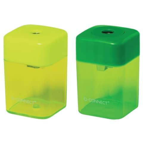 Temperamatite Q-Connect singolo diametro 8 mm colori assortiti - KF00592