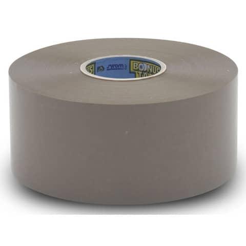Nastro adesivo Bonus Tape SYROM formato 50 mm x 200 m - materiale ppl avana conf. da 6 - 19009