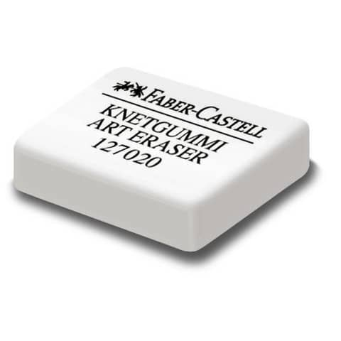 Gomma pane quadrangolare Faber-Castell 7020 bianca 127154