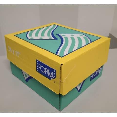 """Moduli continui """"CARTA BIANCA"""" Form 60 g/m² piste staccabili senza stampa scatola da 2000 moduli - 11040118"""