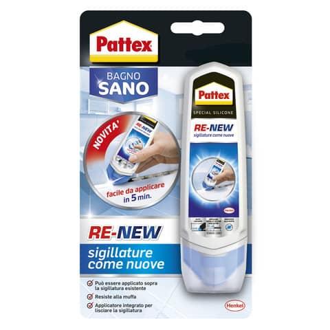 Colla Pattex Bagno Sano Re-New 100 g. trasparente 2045061