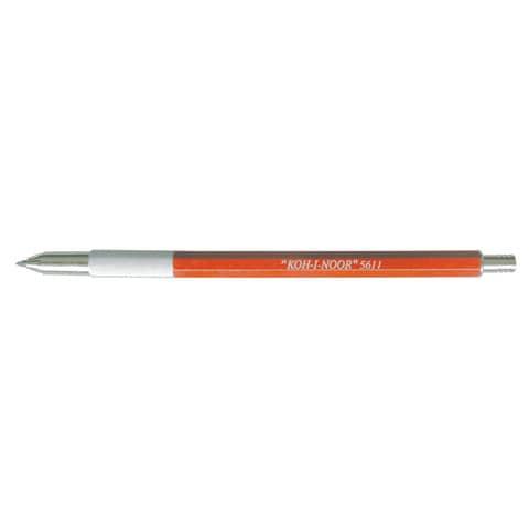 Portamine da disegno KOH-I-NOOR con affilamine 2,5 mm metallo A5611MSN