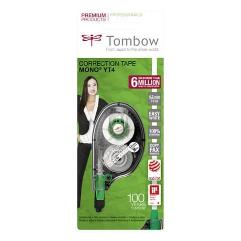 Correttore a nastro Tombow EASY WRITE TAPE bianco 4,2 mm x 10 m TOCT-YT4 Immagine del prodotto Einzelbild 3 XL