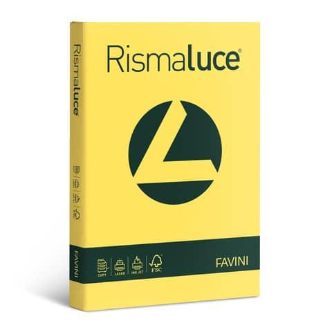 Carta colorata Favini Rismaluce colori forti 90 g/m² A3 giallo sole 53 300 fogli - A66B313