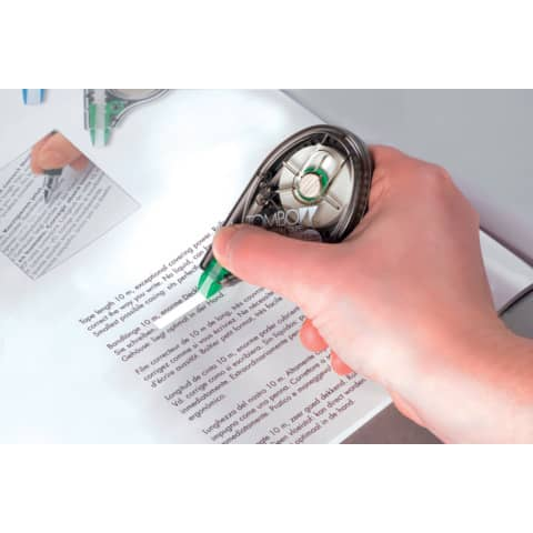 Correttore a nastro Tombow EASY WRITE TAPE bianco 4,2 mm x 10 m TOCT-YT4 Immagine del prodotto Anwendungsdarstellung XL
