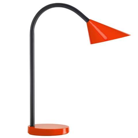 Lampada da tavolo UNILUX rosso  400077406