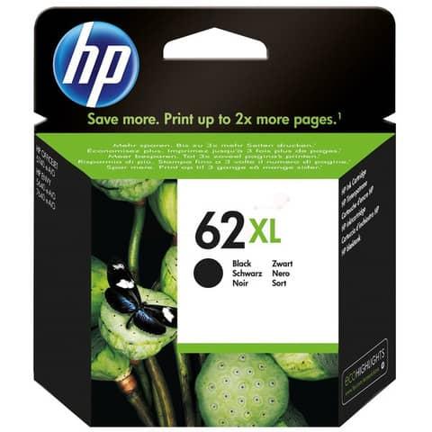 Cartuccia inkjet alta capacità 62XL HP nero C2P05AE