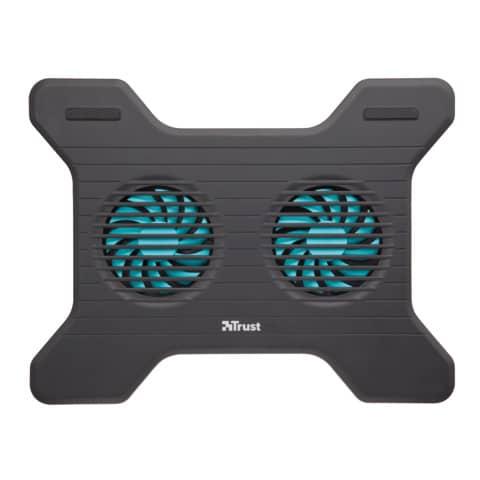Supporto per laptop Trust Xstream Breeze con 2 ventole nero 17805 Immagine del prodotto Einzelbild 1 XL