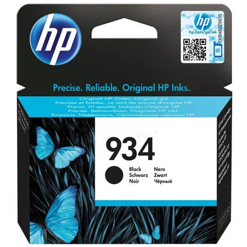 Cartuccia inkjet 934 HP nero  C2P19AE